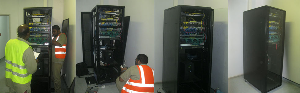 AIR SERVICE LIMITED - Cable Upgrade and Rack Replacement AT PNG Air Service Limited 2016 - 2017