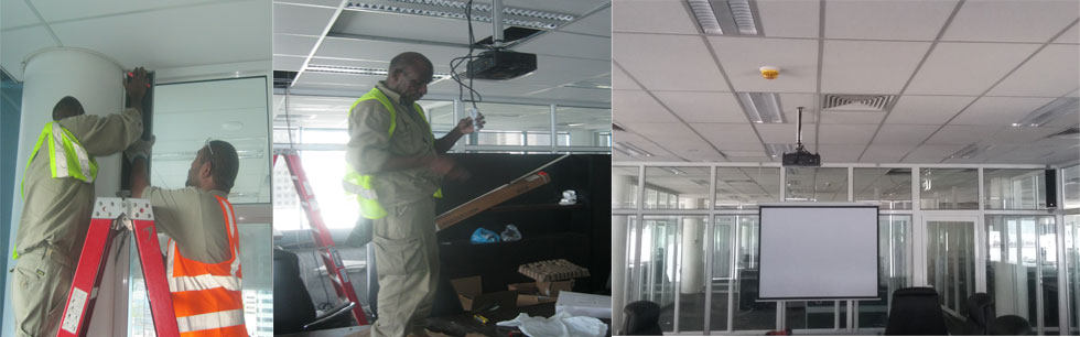PNG PORTS LIMITED - Audio system and Projector Installation at PNG Ports Limited 2016 - 2017