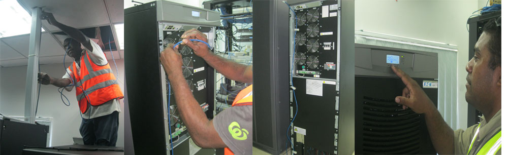 PNG ELECTORAL COMMISSION - Installation of 40KVA Uninterruptible Power Supply (UPS) - 2017